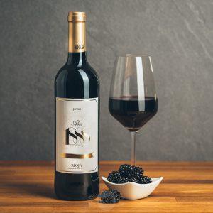 Flasche Rotwein Alos 1888 Rioja