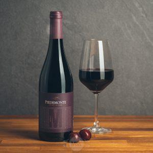 Flasche Rotwein Piedemonte Merlot