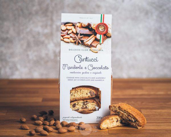 Packung Cantuccini mandorle e cioccolato von Sapori del Lagonero