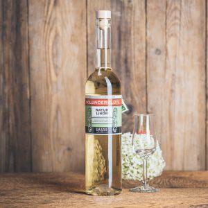 Flasche Sasse Holunderblüte Natur Likör