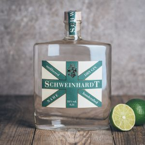 Flasche Schweinhardt Nahe Dry Gin