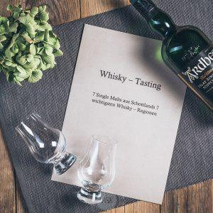 Seminar Whisky-Tasting in der Münsterländer Speisekammer