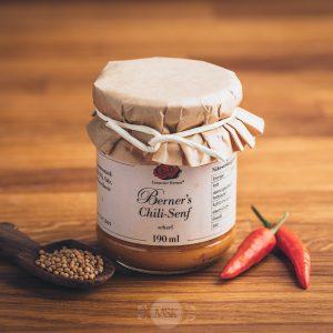 Glas Gourmet Berner Chili-Senf