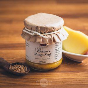 Glas Gourmet Berner Mango-Senf