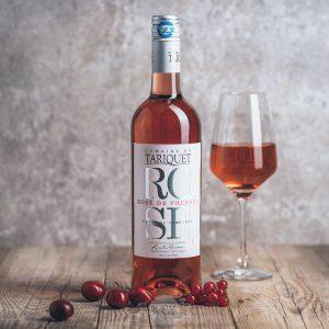 Flasche Roséwein Domaine du Tariquet Rosé de Pressée