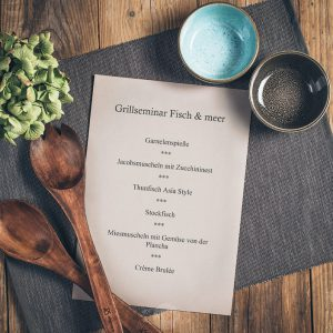 Grillseminar Fisch und meer Münsterländer Speisekammer