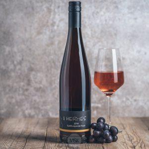 Flasche Roséwein Hermes Spätburgunder Rosé