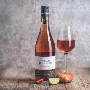 Flasche Roséwein Elégance Syrah Grenache Rosé d`Oc