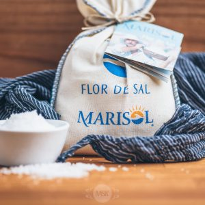Säckchen Meersalz Marisol Flor de Sal
