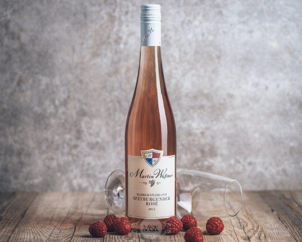 Flasche Roséwein Martin Waßmer Spätburgunder Rosé Markgräflerland