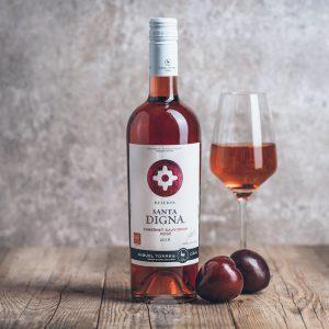 Flasche Roséwein Miguel Torres Cabernet Sauvignon Santa Digna Rose