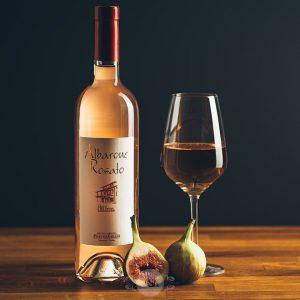 Flasche Pasetto Emilio Rosato Cascina Albarone Wein