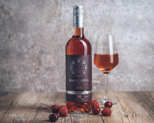 Flasche Roséwein Mas Rabell Rosado