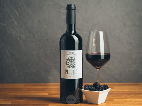 Flasche Rotwein Bodegas Valpiculata Piculia