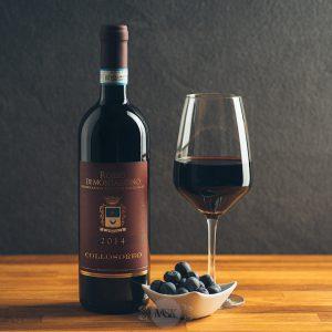 Flasche Rotwein Collosorbo Rosso di Montalcino