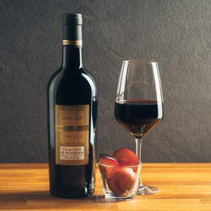 Flasche Rotwein Conte di Campiano Primitivo di Manduria Riserva