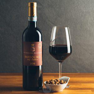 Flasche Rotwein Guerrieri Rizzardi Bardolino Classico