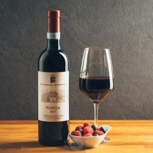 Flasche Rotwein Guerrieri Rizzardi Pojega Valpolicella Classico Superiore DOP Ripasso