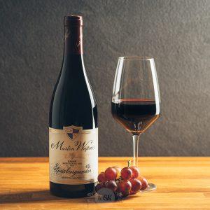 Flasche Rotwein Martin Waßmer Spätburgunder