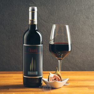 Flasche Rotwein Renzo Masi Chianti