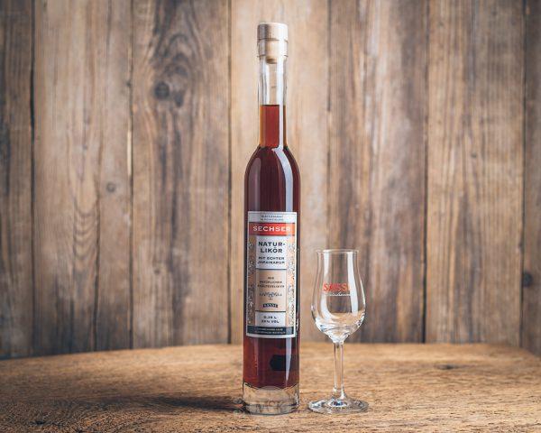 Flasche Sasse Sechser Naturlikör