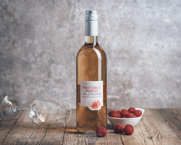 Flasche Roséwein Valdadige Pinot Grigio Ramato