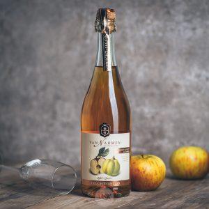 Flasche Van Nahmen Apfel Quitte Frucht Secco