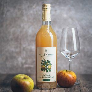 Flasche Van Nahmen Apfelsaft von Streuobstwiesen