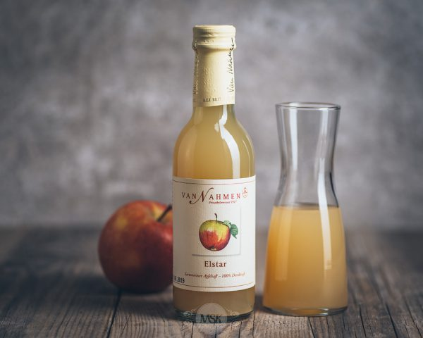 Flasche Van Nahmen Elstar Apfelsaft 250 ml
