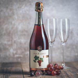 Flasche Van Nahmen Traube Frucht Secco