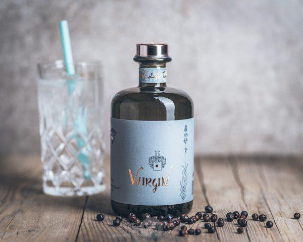 Flasche Wirsching Wirgin Gin