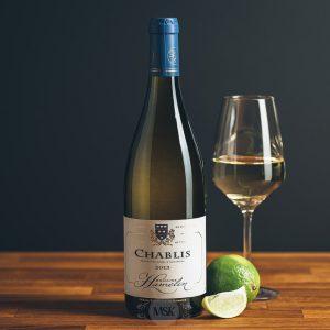 Flasche Weißwein Domaine Hamelin Chablis