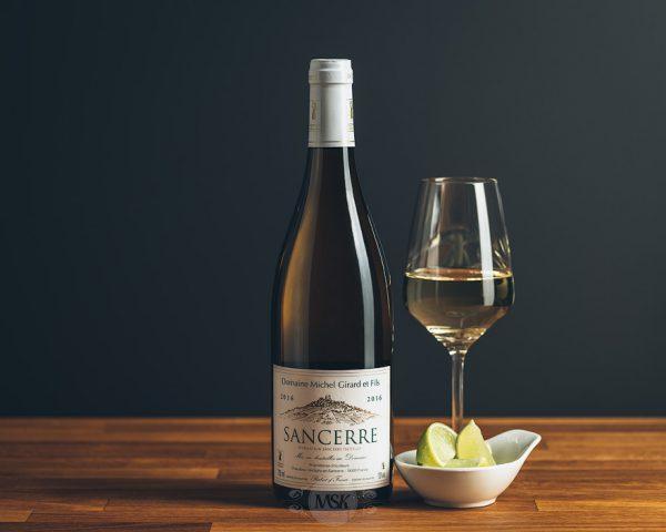 Flasche Weißwein Domaine Michael Girard Sancerre blanc