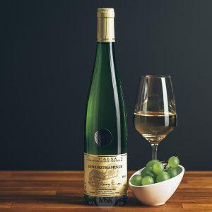Flasche Weißwein Domaine Simon Gewurztraminer