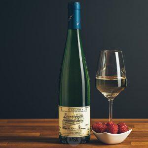 Flasche Weißwein Domaine Simon Gewurztraminer Grand Cru Zinnkoepfle