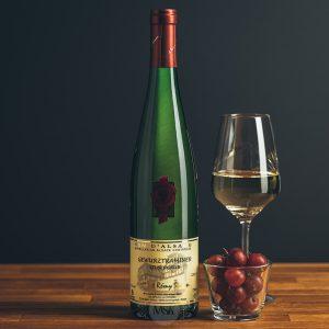 Flasche Weißwein Domaine Simon Gewurztraminer Silbergrub