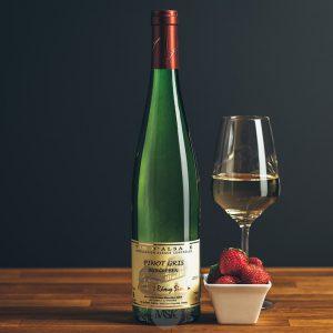Flasche Weißwein Domaine Simon Pinot Gris Burgreben