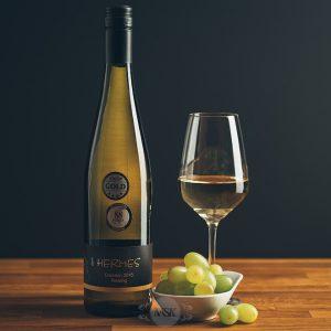 Flasche Weißwein Hermes Creation Riesling