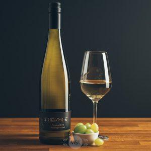 Flasche Weißwein Finesse Riesling