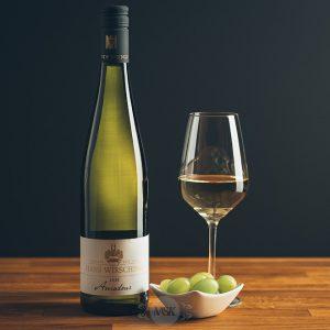Flasche Weißwein Hans Wirsching Amadeus