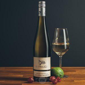 Flasche Weißwein Hofbauer Weinviertel Grüner Veltliner