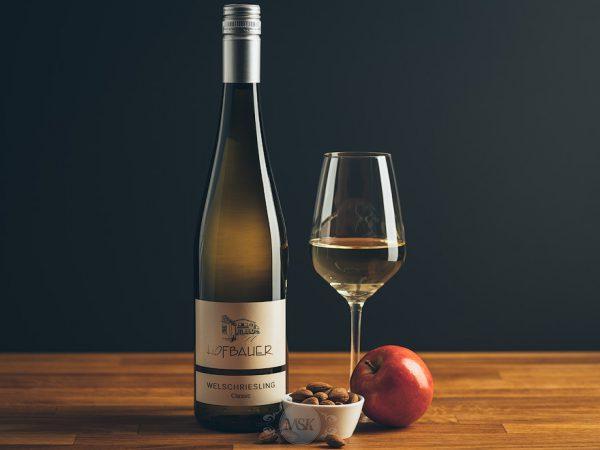 Flasche Weißwein Hofbauer Welschriesling Classic