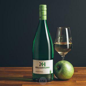 Flasche Weißwein Kilian Hunn Müller-Thurgau