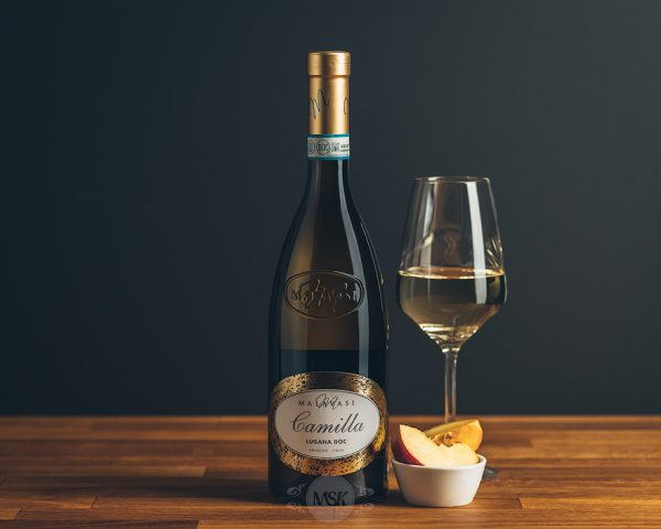 Flasche Weißwein Lugana Camilla DOC Malavasi