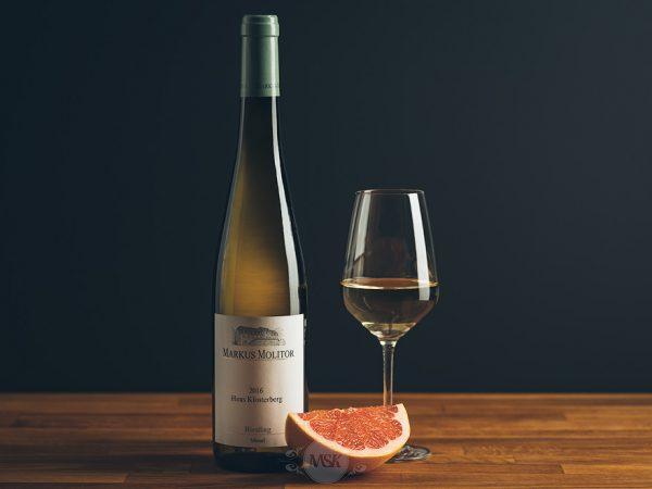 Flasche Weißwein Markus Molitor Haus Klosterberg Riesling