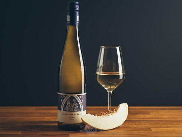 Flasche Weißwein Theo Minges Cuvee des Fees
