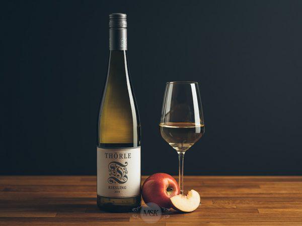 Flasche Weißwein Thörle Riesling