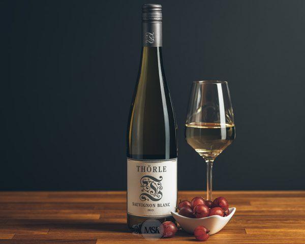 Flasche Weißwein Thörle Sauvignon Blanc
