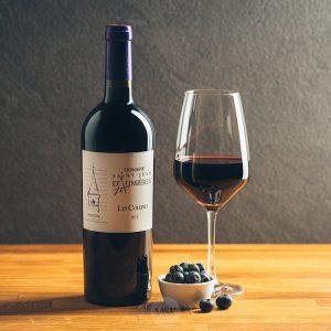 Flasche Rotwein Chateau Saint-Jean D´Aumieres Les Collines Merlot