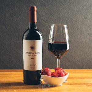 Flasche Rotwein Corte dei Mori Terre Siciliane Nero d´Avola